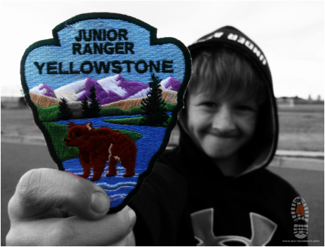 Picture Children and Kids things to do in Yellowstone Junior Ranger