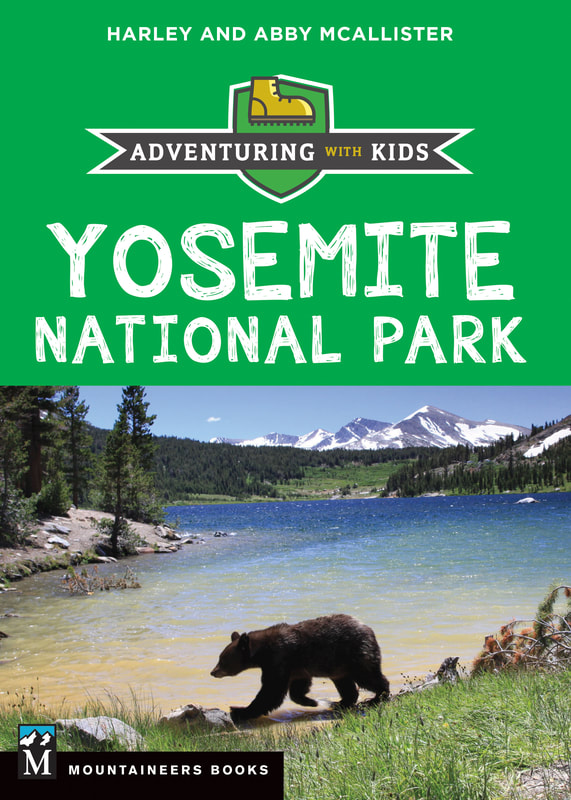 Yosemite family vacation guide book